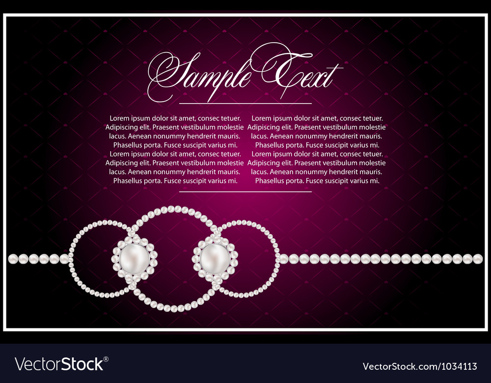 Abstract violet card for design vector | Price: 1 Credit (USD $1)