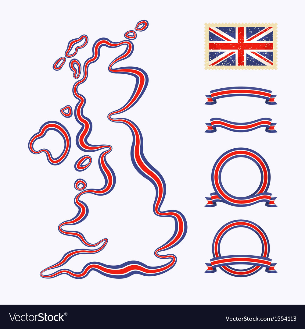 Colors of united kingdom vector | Price: 1 Credit (USD $1)