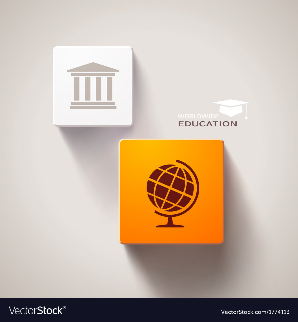 Educational concept vector   Price: 1 Credit (USD $1)