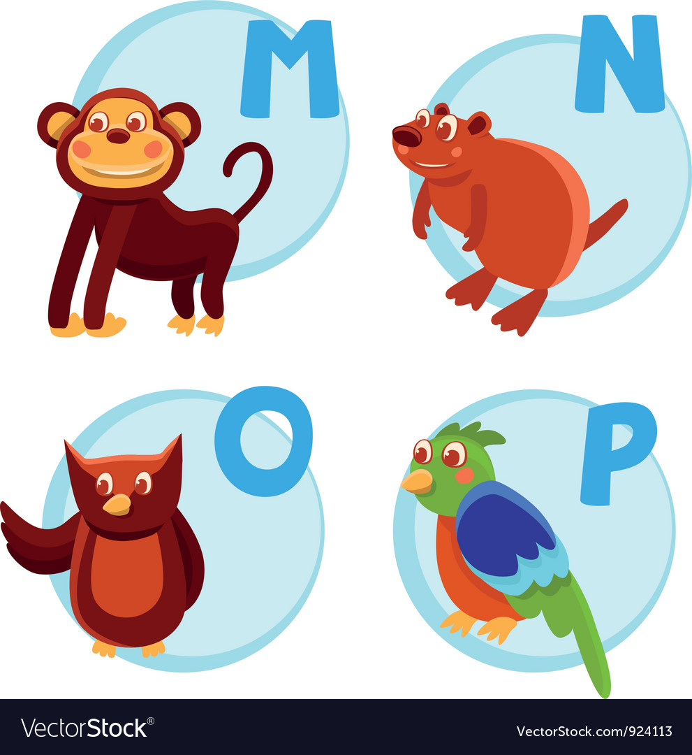 Funny cartoon alphabet vector | Price: 3 Credit (USD $3)