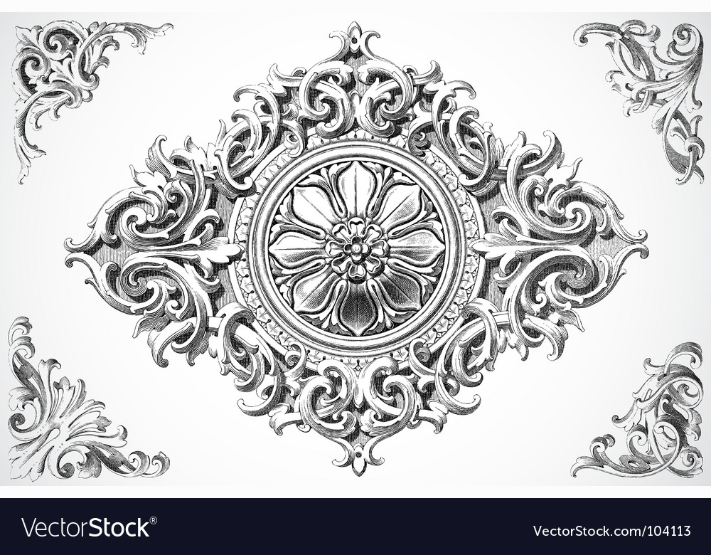 Print design traced vector | Price: 1 Credit (USD $1)