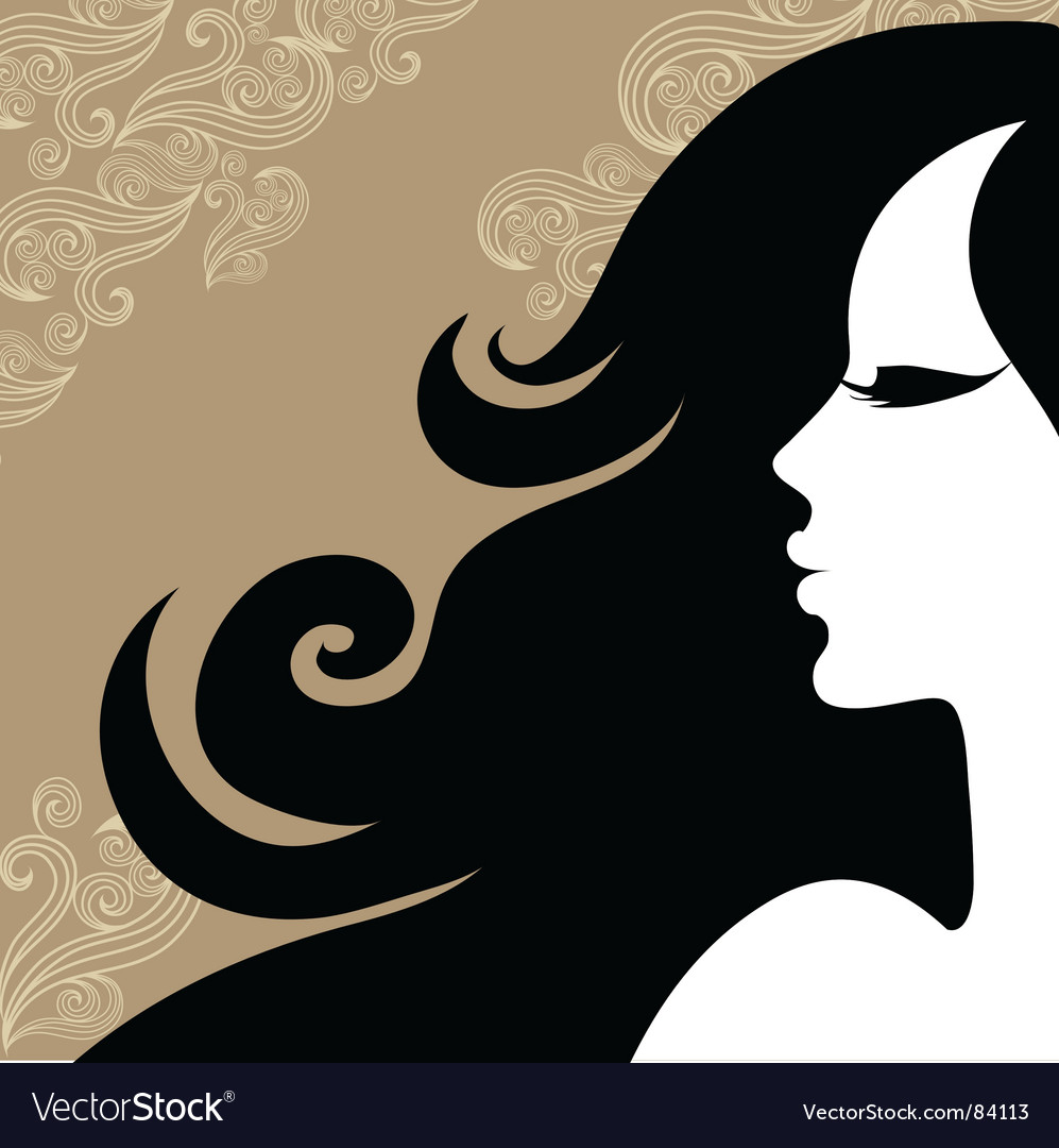 Vintage woman vector | Price: 1 Credit (USD $1)