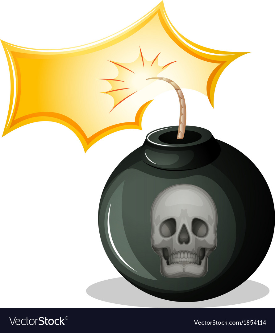 A rounded bomb vector   Price: 1 Credit (USD $1)