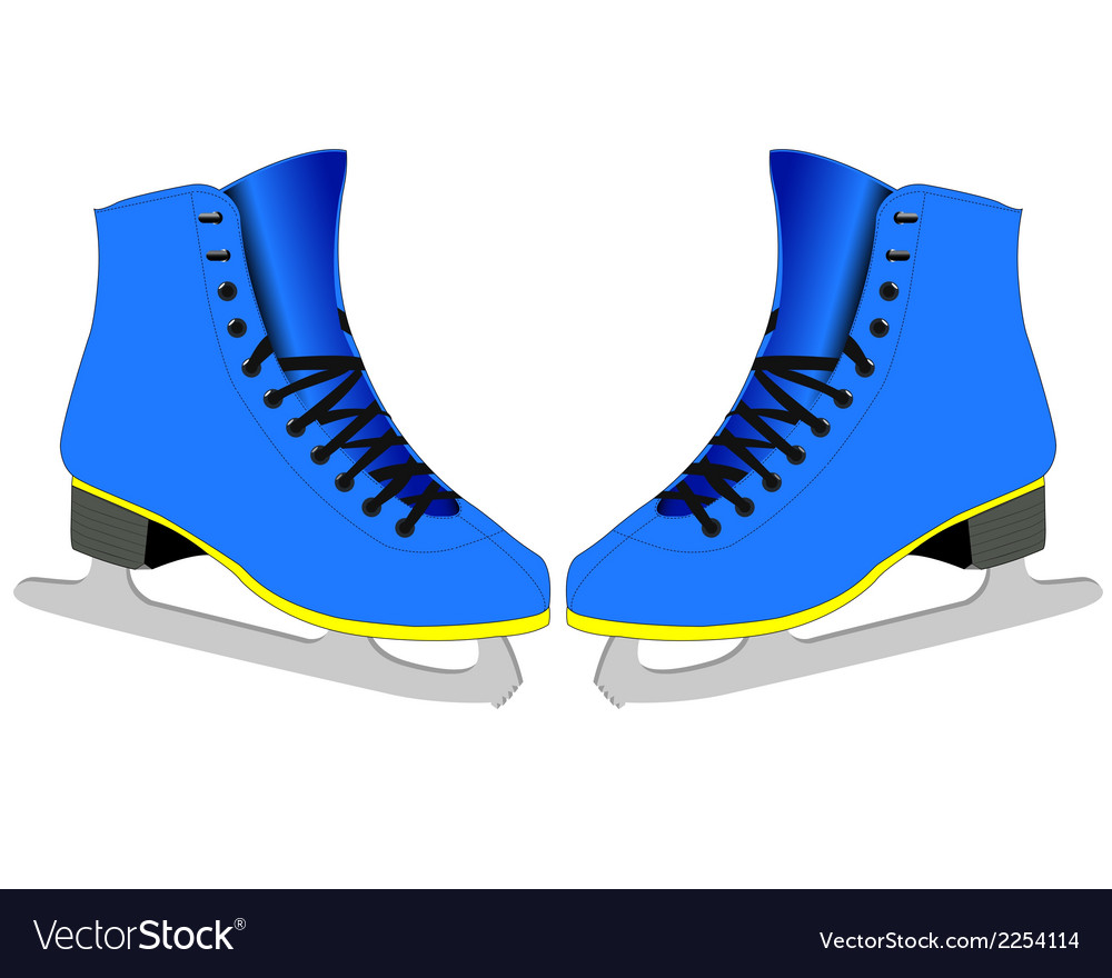 Skates for figure skaters vector | Price: 1 Credit (USD $1)