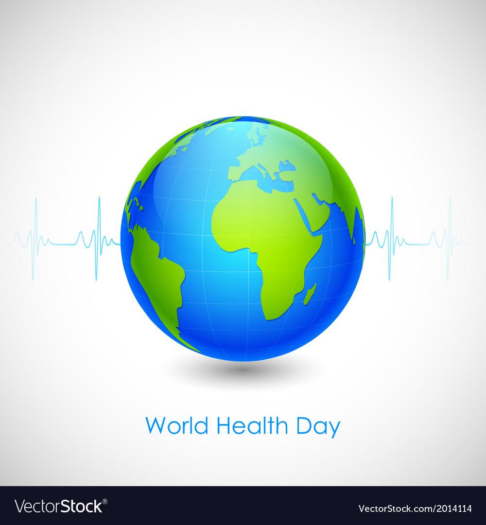 World health day vector | Price: 1 Credit (USD $1)