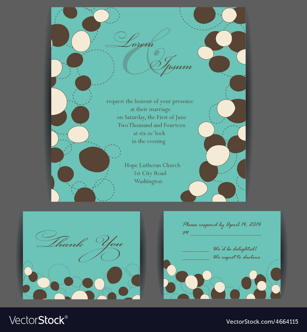 Invitation card vector | Price: 1 Credit (USD $1)