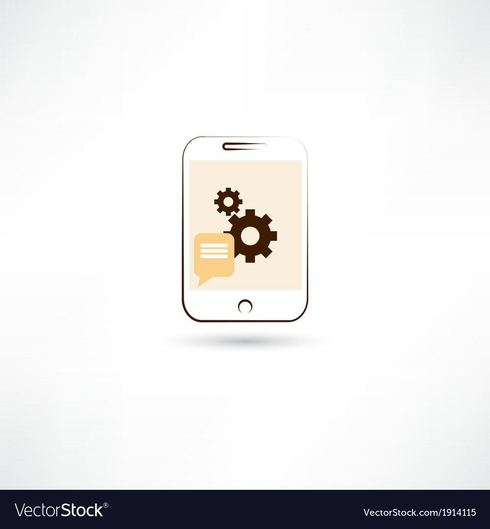Repairing mobile phone color vector | Price: 1 Credit (USD $1)