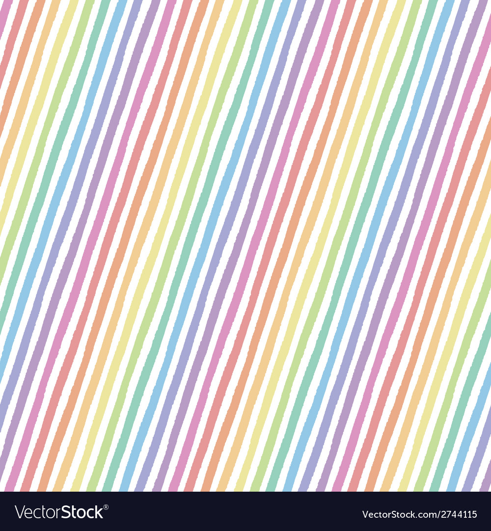 Retro seamless pattern with diagonal painted vector | Price: 1 Credit (USD $1)