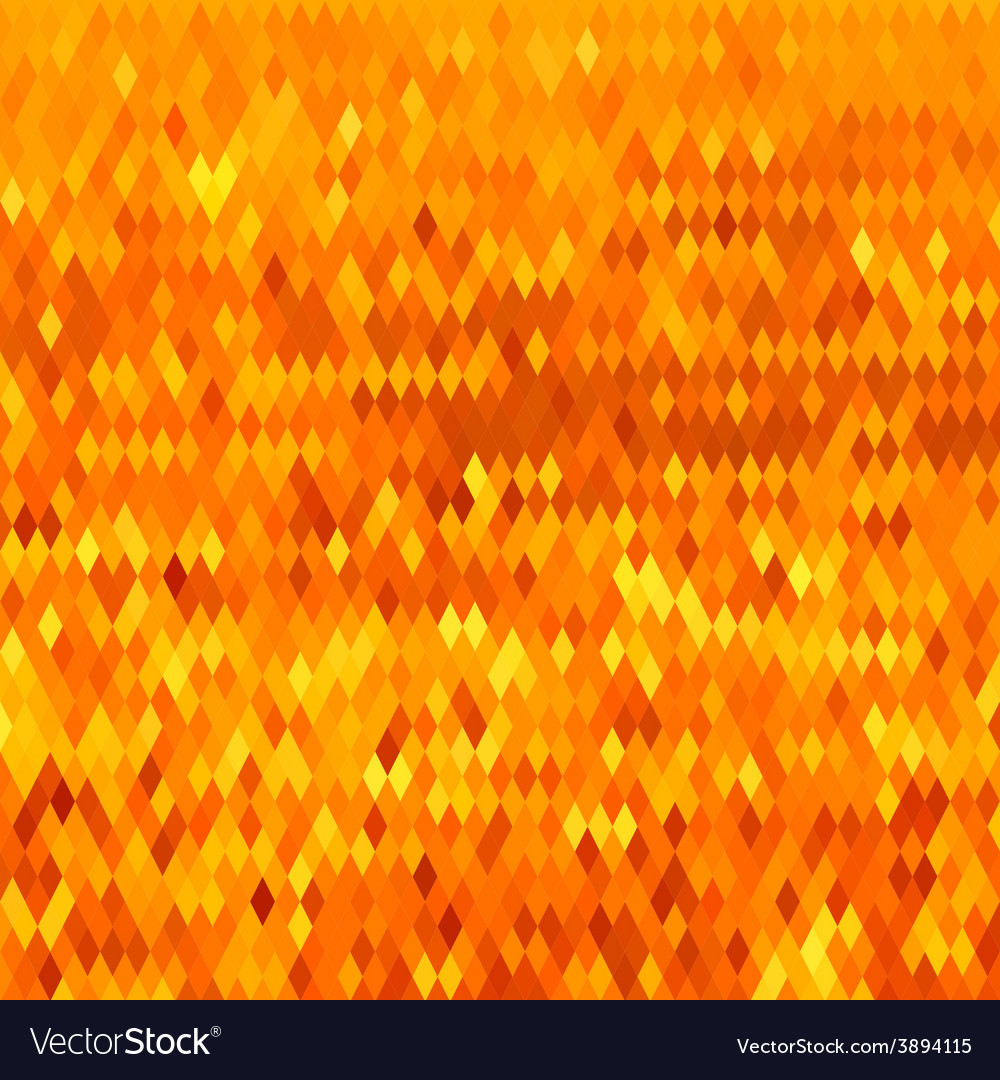Yellow weave abstract low polygon background vector | Price: 1 Credit (USD $1)