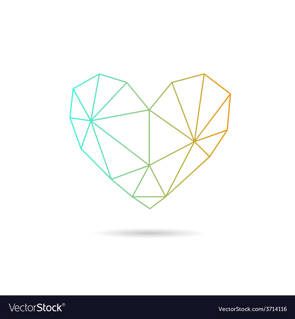 Heart shape abstract vector   Price: 1 Credit (USD $1)