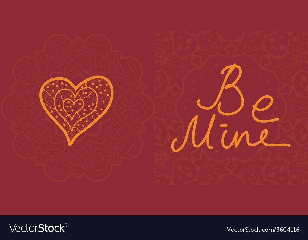 Valentine cards design editable vector | Price: 1 Credit (USD $1)