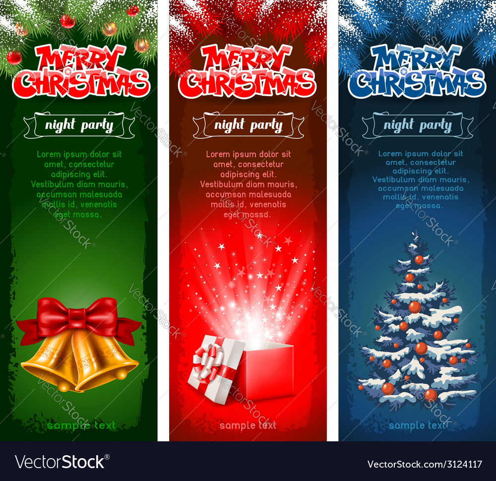 Christmas flyer vector | Price: 1 Credit (USD $1)