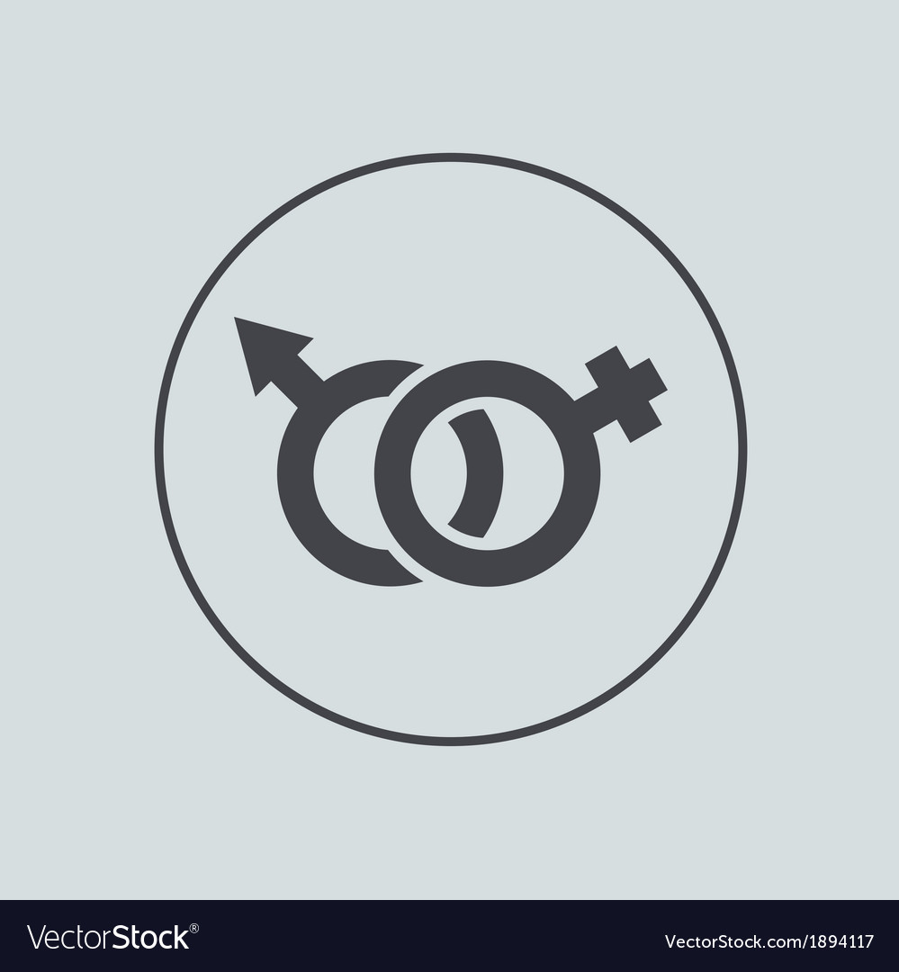 Circle icon on gray background eps 10 vector   Price: 1 Credit (USD $1)