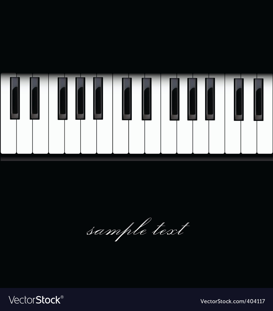 Piano keyboard vector   Price: 1 Credit (USD $1)