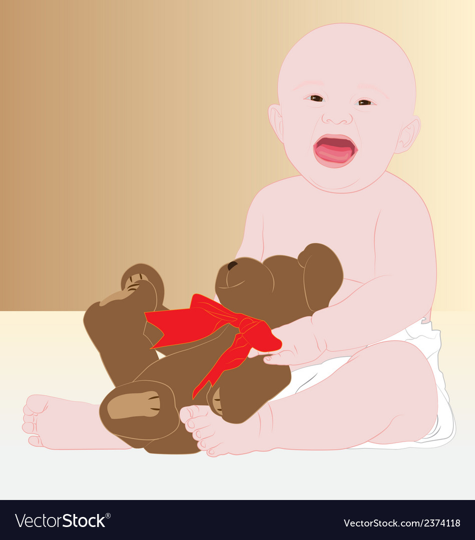 Love baby2 vector | Price: 1 Credit (USD $1)
