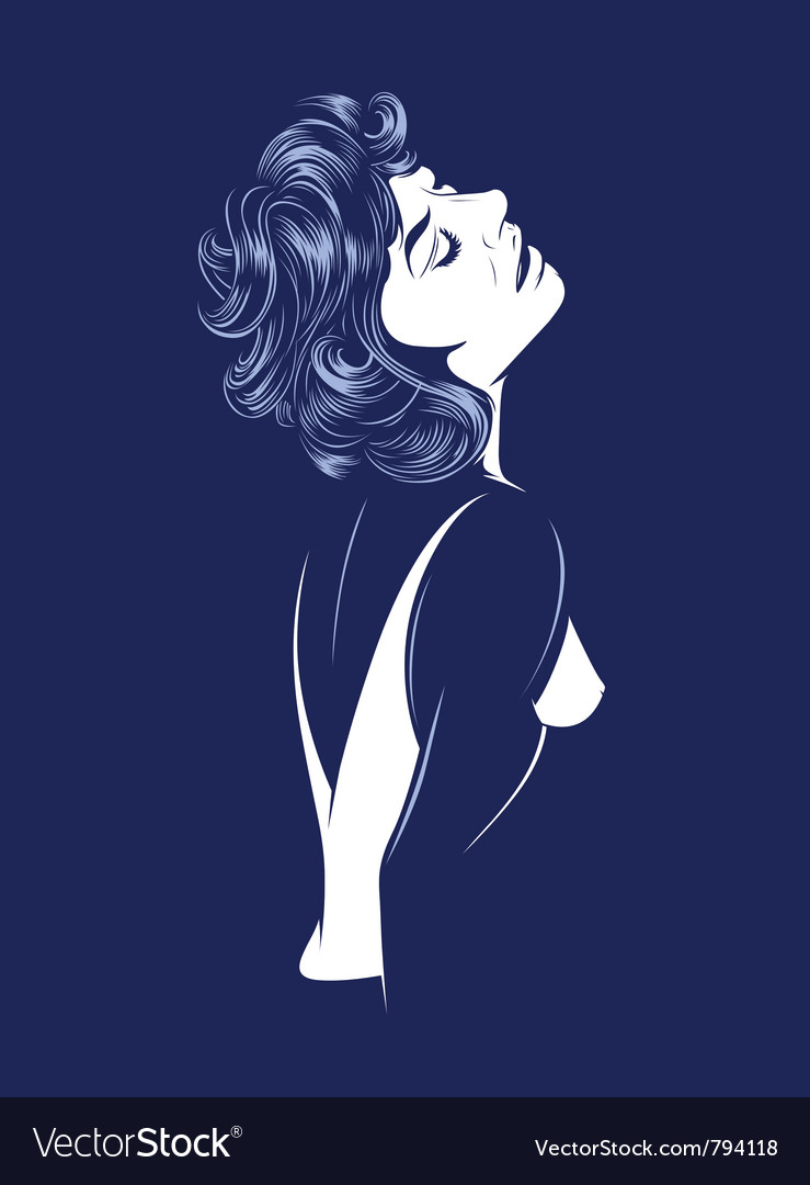 Sexy glamour women vector | Price: 3 Credit (USD $3)