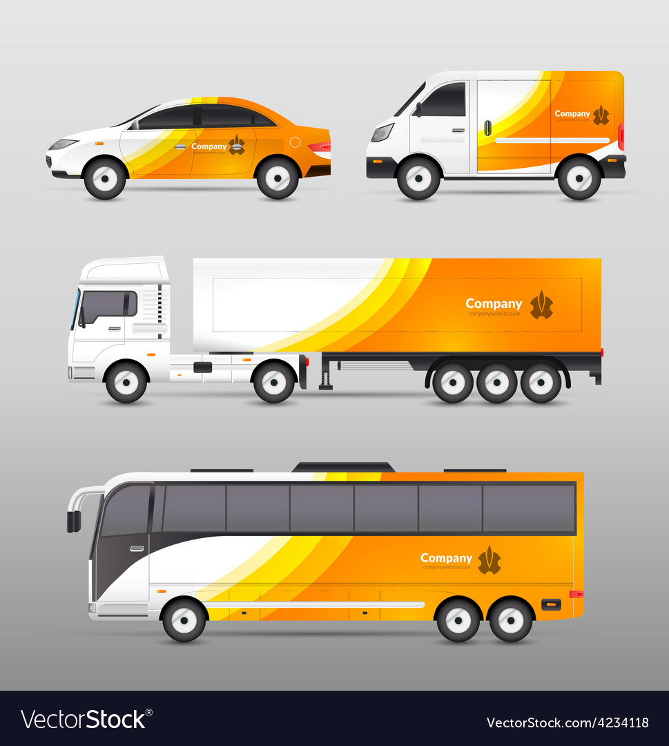 Transport advertisement design vector   Price: 3 Credit (USD $3)