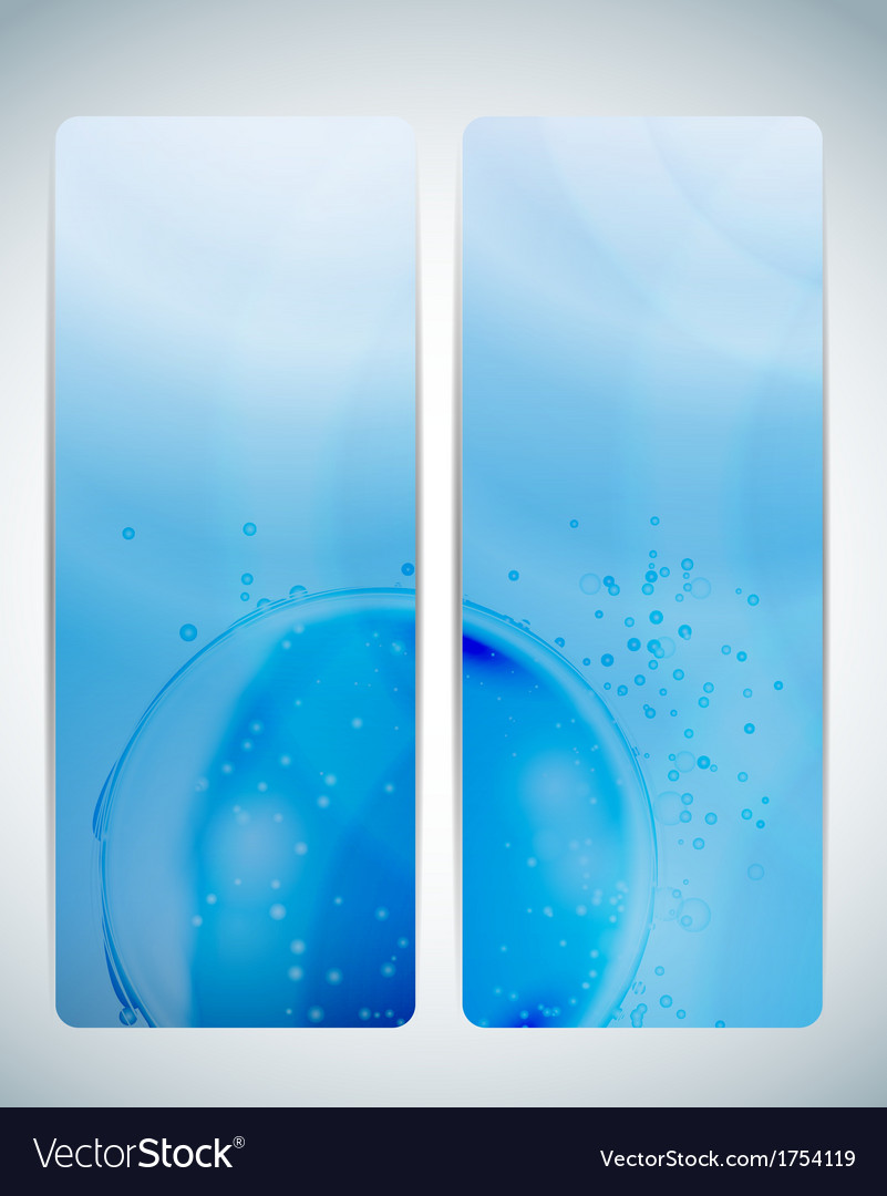 Abstract aqua background card i vector | Price: 1 Credit (USD $1)