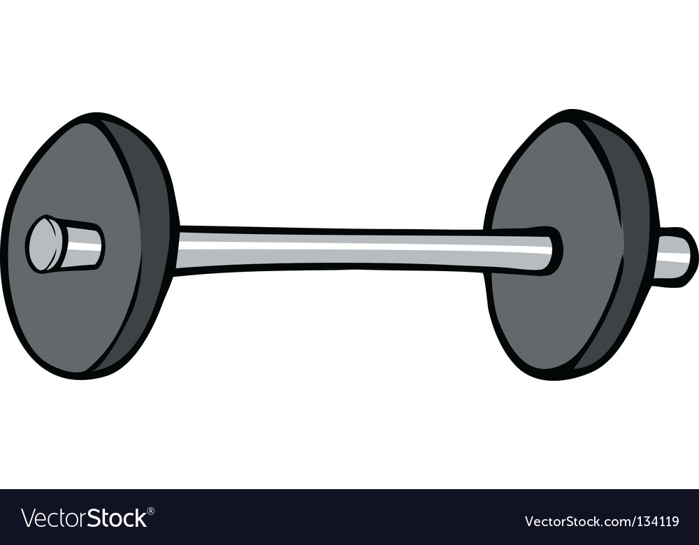 Barbell vector | Price: 1 Credit (USD $1)