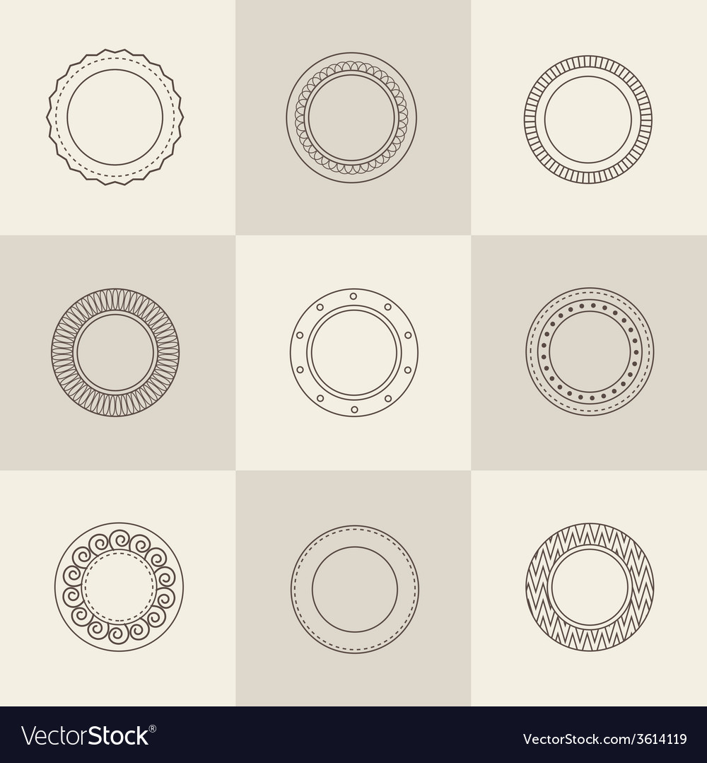 Plate set vector | Price: 1 Credit (USD $1)