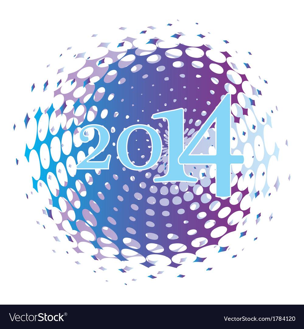 2014 celebrate vector | Price: 1 Credit (USD $1)