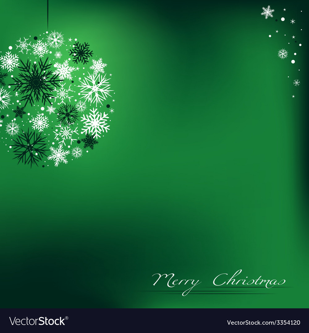 Christmas bulb background vector | Price: 1 Credit (USD $1)
