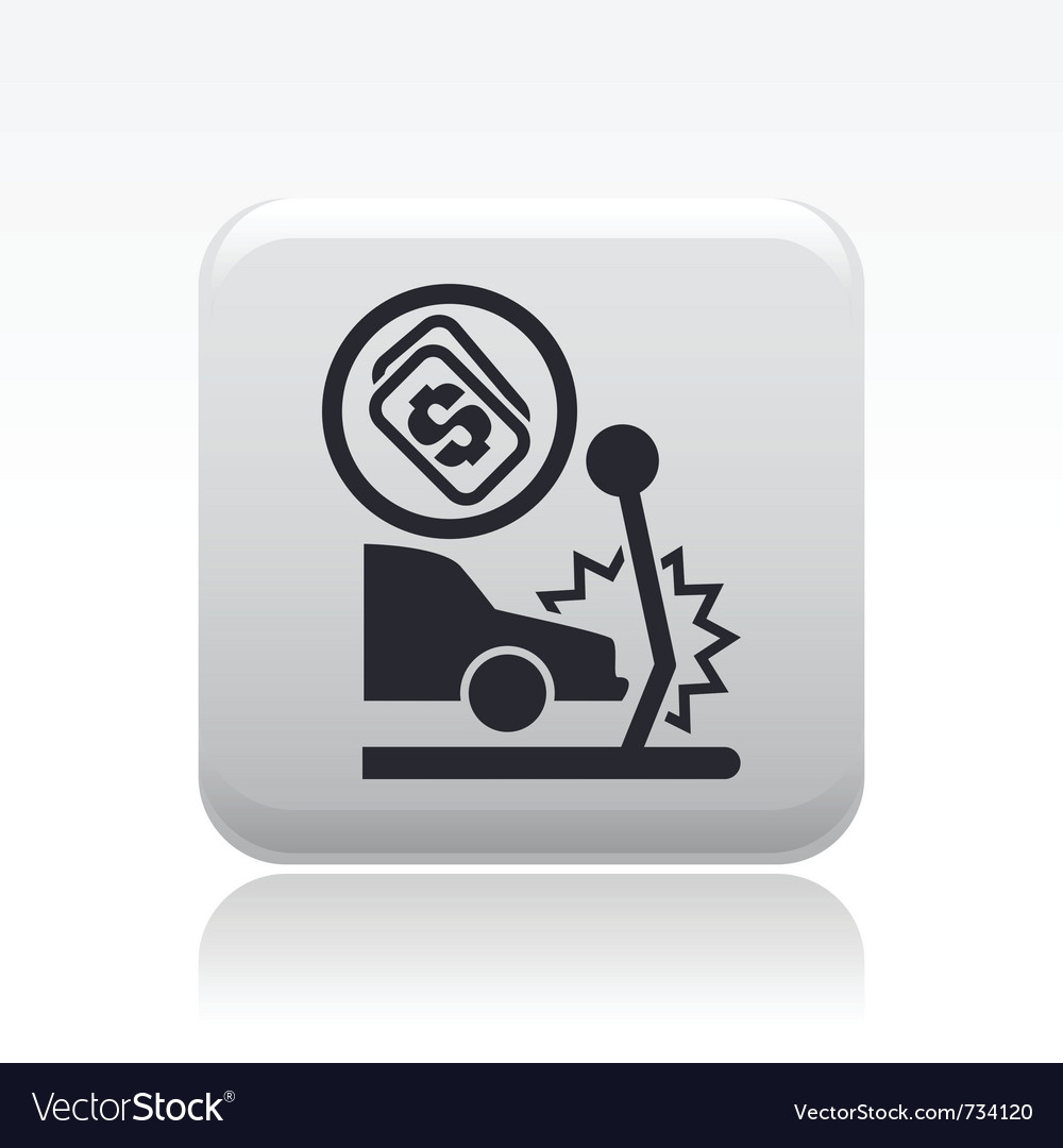 Crash icon vector | Price: 1 Credit (USD $1)