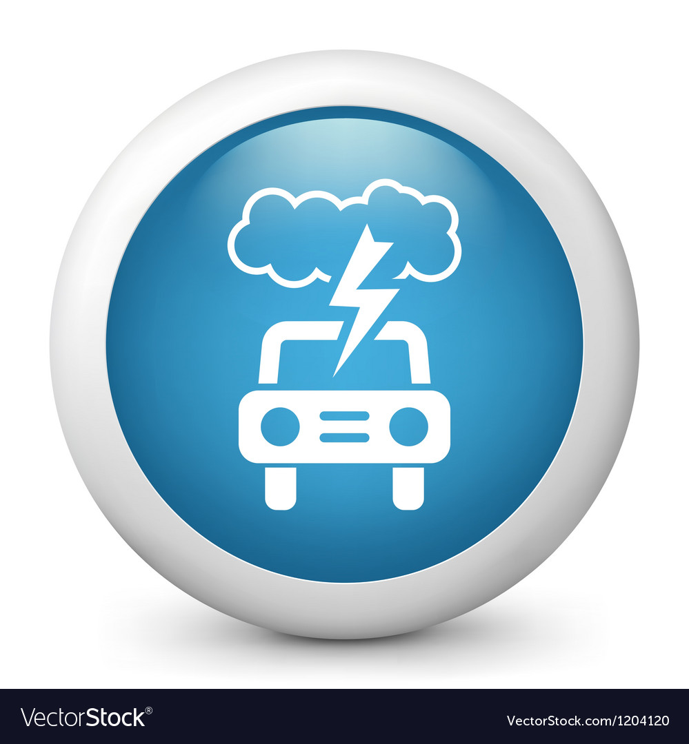 Driving weather forecast icon vector