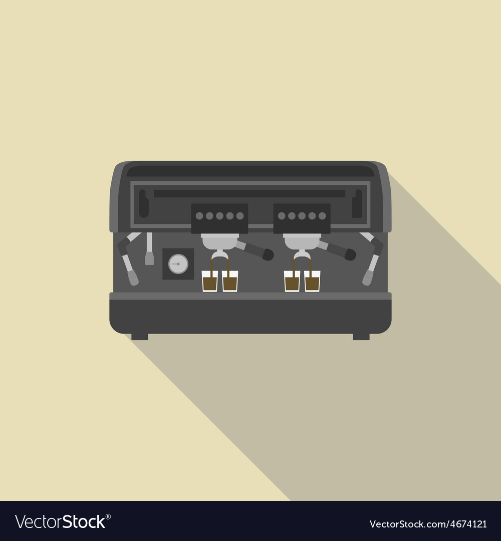 90espresso machine vector