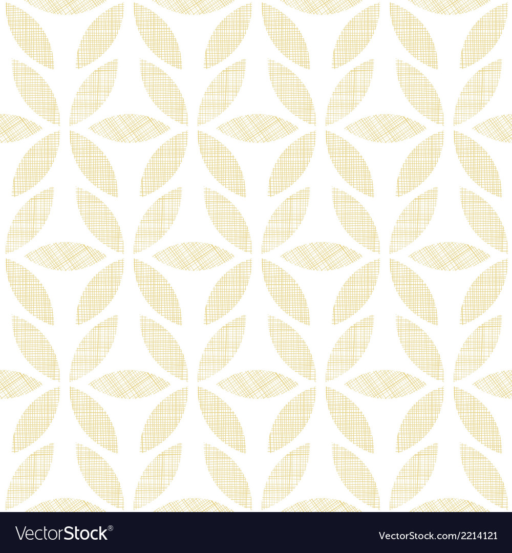 Abstract textile beige leaves seamless pattern vector | Price: 1 Credit (USD $1)