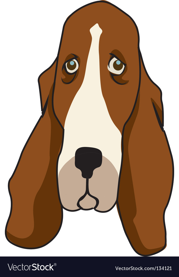 Basset vector | Price: 1 Credit (USD $1)