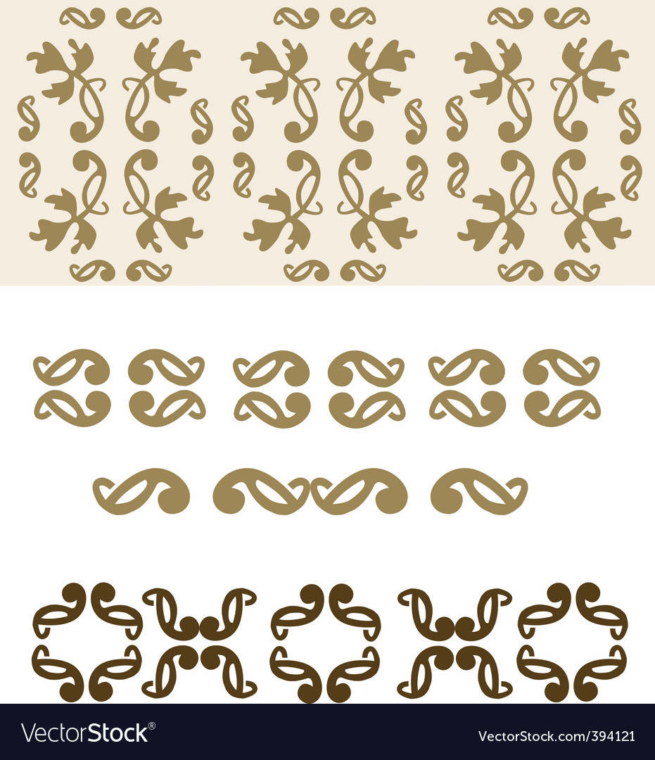 Filigree elements vector | Price: 1 Credit (USD $1)