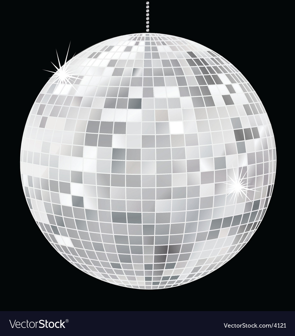 Simple disco ball vector | Price: 1 Credit (USD $1)