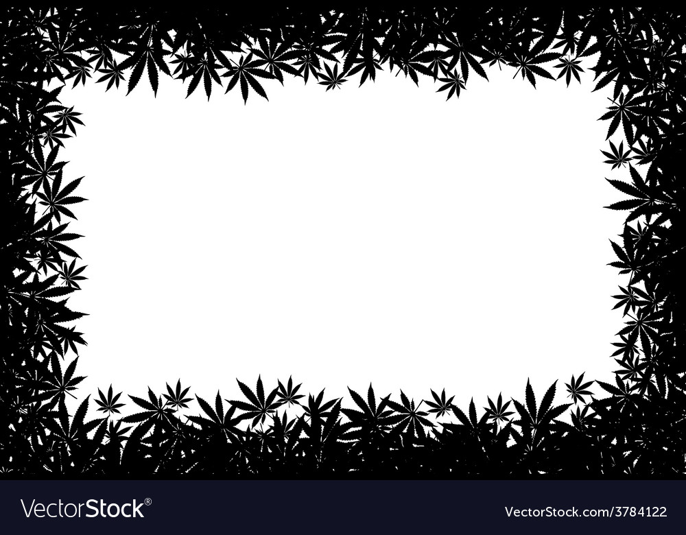 Marijuana frame vector | Price: 1 Credit (USD $1)