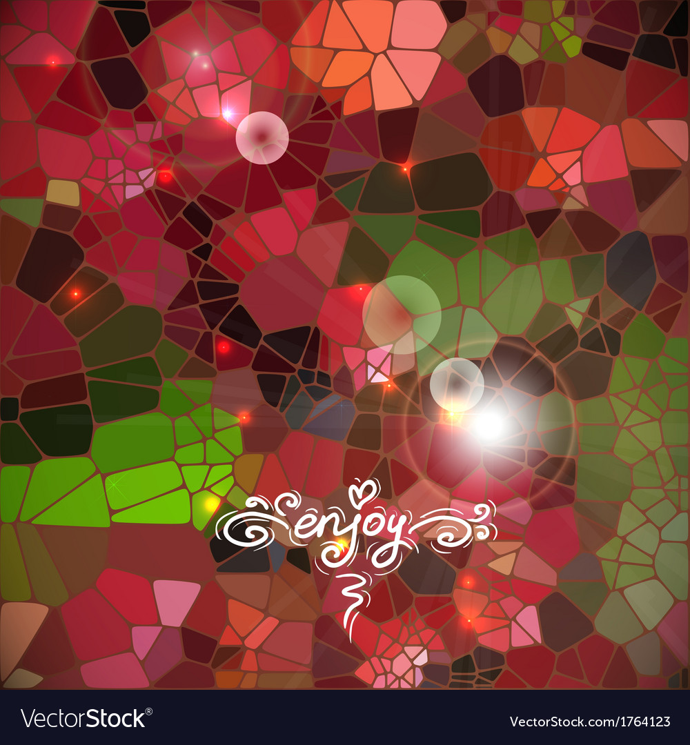 Abstract colorful shining circle background vector | Price: 1 Credit (USD $1)