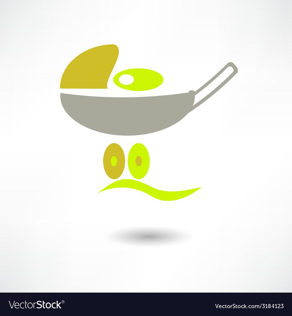 Pram icon vector | Price: 1 Credit (USD $1)