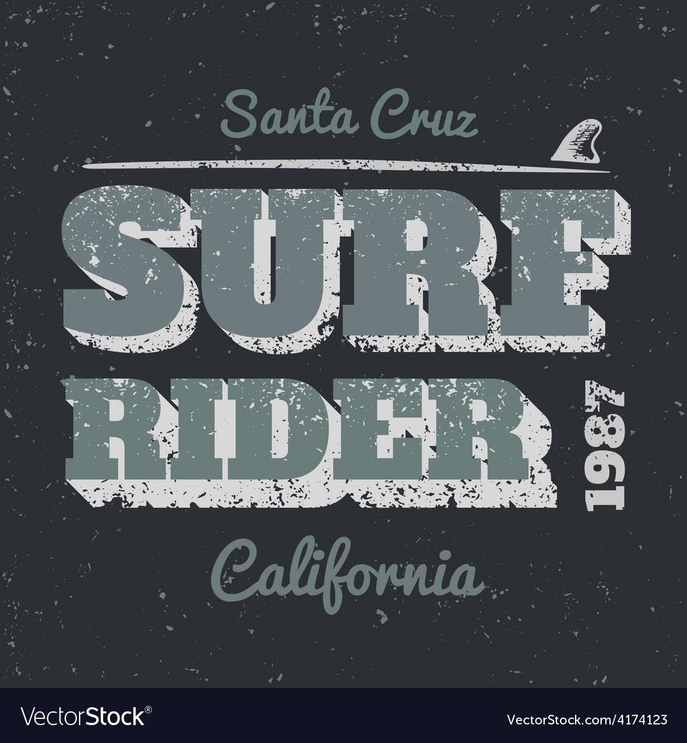Surf rider vector | Price: 1 Credit (USD $1)