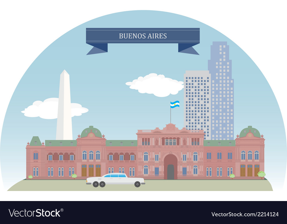 Buenos aires vector | Price: 1 Credit (USD $1)
