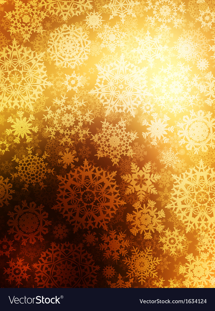 Christmas background with snowflakes eps 10 vector | Price: 1 Credit (USD $1)