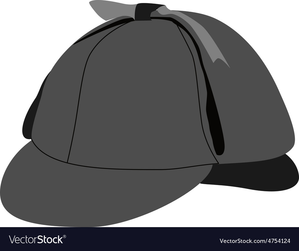 Detective hat vector | Price: 1 Credit (USD $1)
