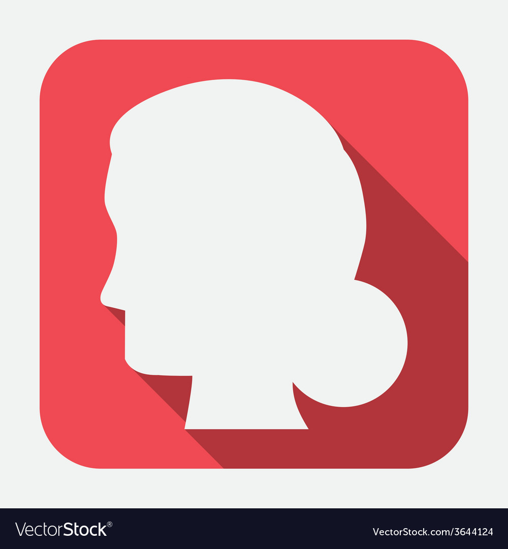 Human profile vector | Price: 1 Credit (USD $1)