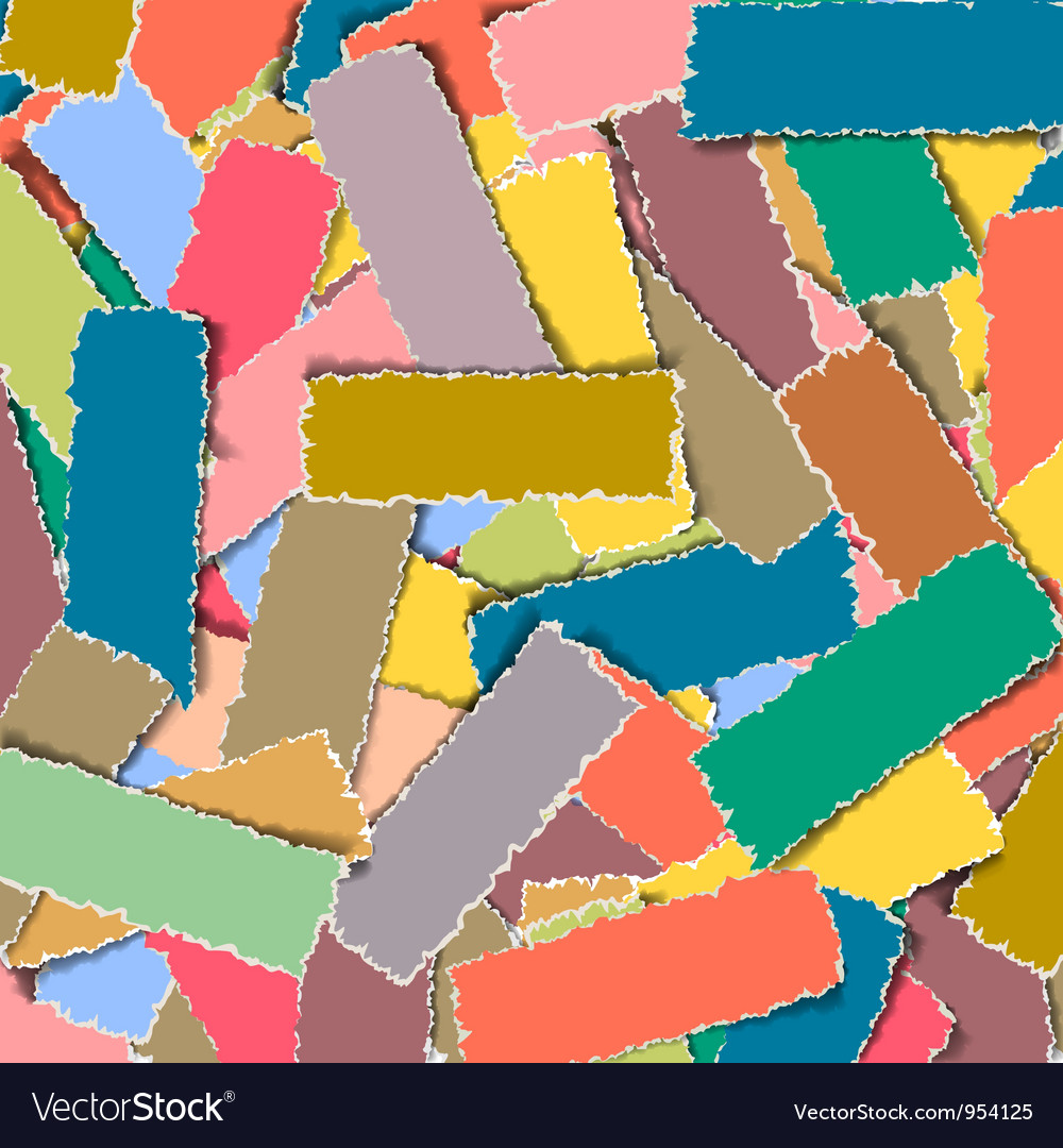 Background with torn paper banners 2 vector | Price: 1 Credit (USD $1)