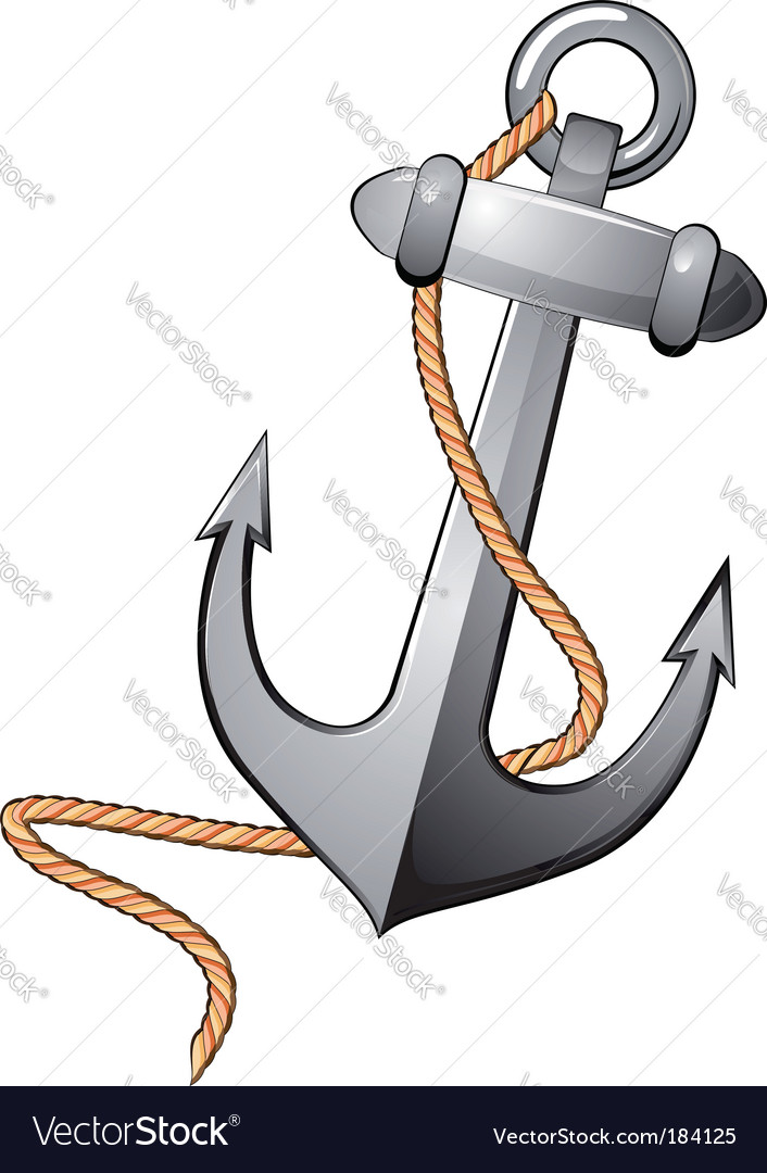 Isolated anchor vector | Price: 1 Credit (USD $1)