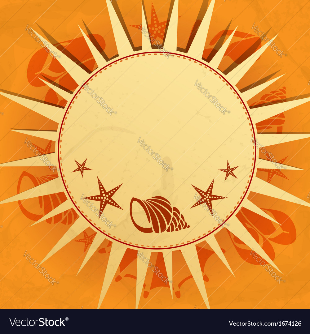 Its summer time vector | Price: 1 Credit (USD $1)