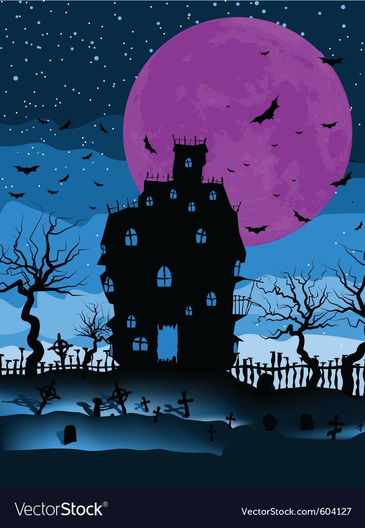 Dark scary halloween vector | Price: 1 Credit (USD $1)