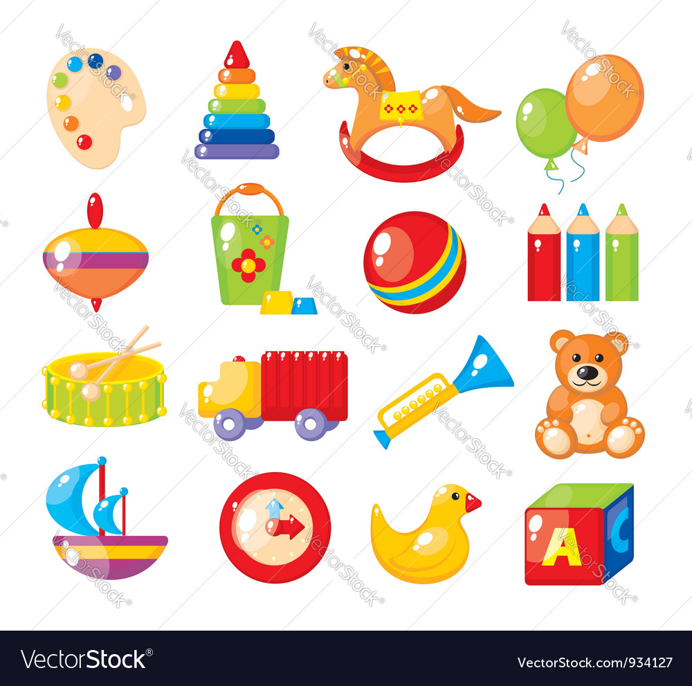 Set of pictures for a kindergarten vector | Price: 3 Credit (USD $3)