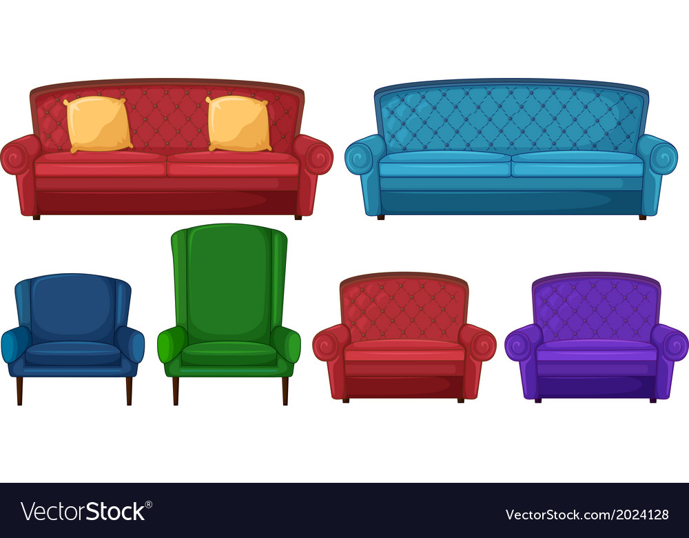 A collection of different chairs vector   Price: 1 Credit (USD $1)