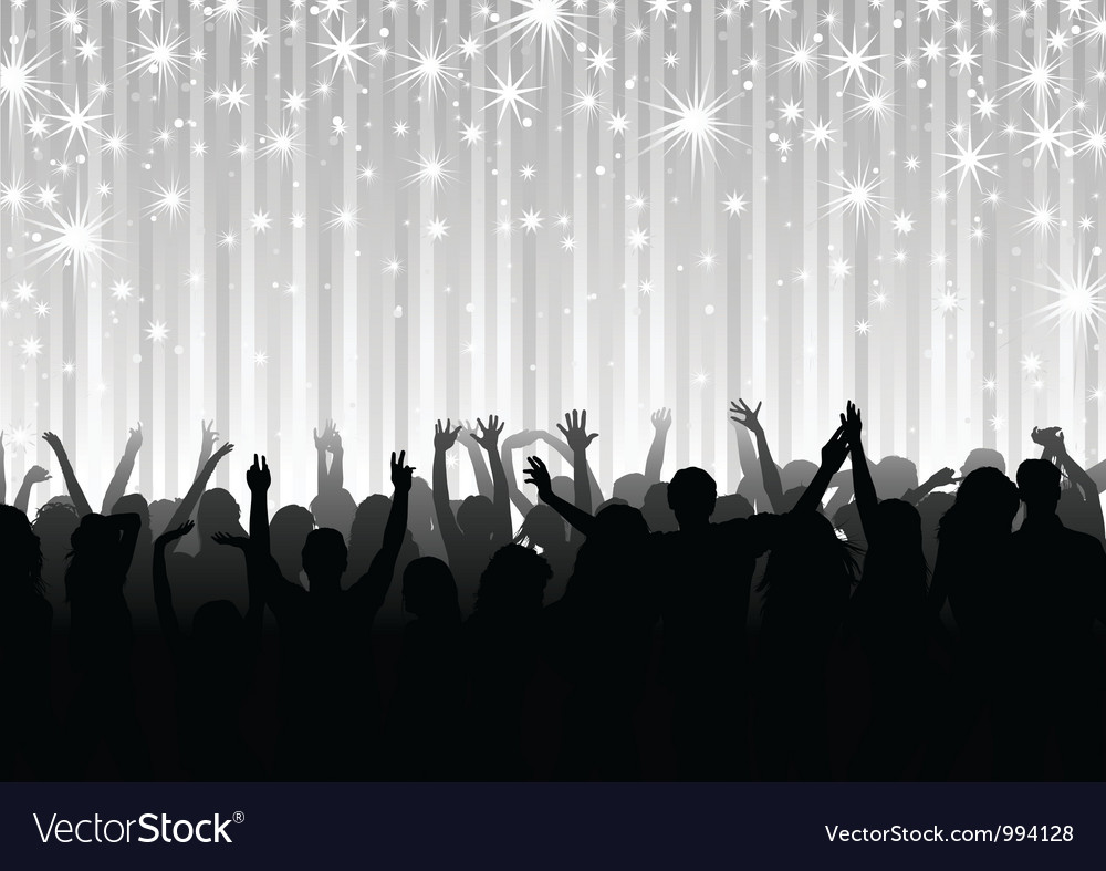 Crowd on the party vector | Price: 1 Credit (USD $1)