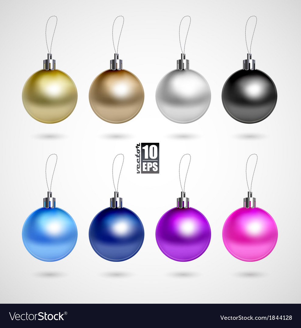 Evening balls vector | Price: 1 Credit (USD $1)