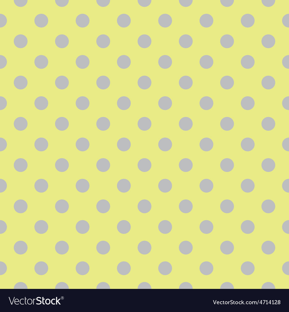 Tile pattern with grey blue polka dots on green vector | Price: 1 Credit (USD $1)